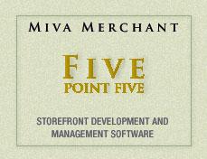 Miva Merchant 5.5 advanced catalog and order management system